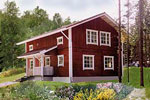 Финские бревенчатые дома Suoranta
