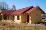 Изготовление деревянных домов каркасного типа
