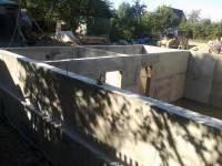 Строительство стен цокольного этажа