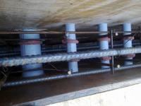 Плита - гидроизуляция инженерных проходок