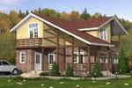 Шербрук 164, каркасно-панельный дом