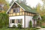 Бавария 61, каркасно-панельный дом