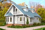 Лахти 132, каркасно-панельный дом 7.74 x 10.62 м
