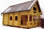 Двухэтажный жилой дом 9.0 x 5.3м